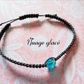Sale retail: Bracelet  'Nuage glacé'