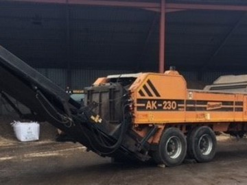 Daily Equipment Rental: Doppstadt AK230, High Speed Shredder