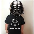 Vente au détail: Tee shirt Noir enfant STAR WARS JE SUIS TON FILS