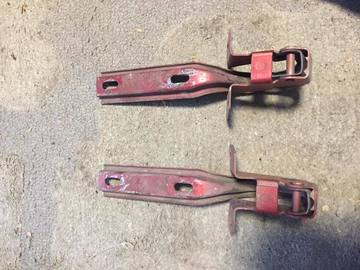 Selling with online payment: 79-93 mustang hood hinges