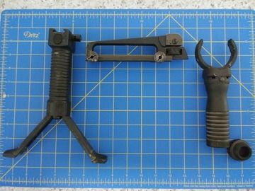 Selling: 203 grip GPS bipod carry handle