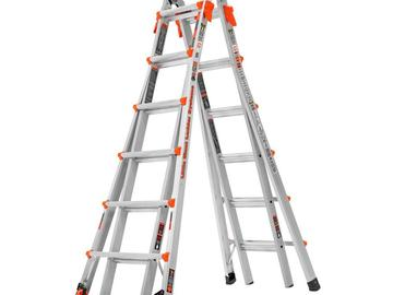 Renting out equipment (w/o operator): Ladder - little giant ladder