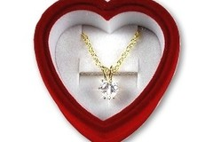 Buy Now: 50-- 3 carat weight-- CZ Heart Pendant Necklace $2.50 pcs