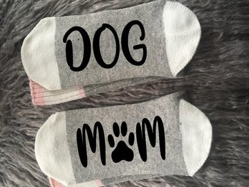 Selling: Dog Mom Socks-Dog Gifts
