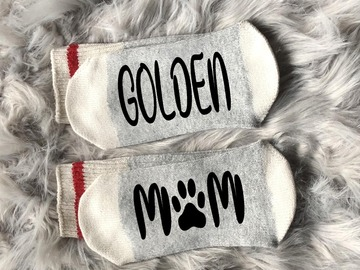 Selling: Golden Retriever Socks-Dog Gifts