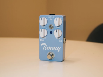 Renting out: Overdrive Pedal -Timmy by Paul Cochrane, Daphne Blue