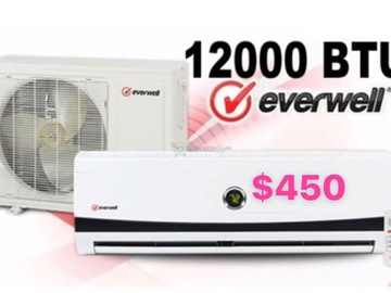 Selling Products: Everwell Portable Air Conditioning unit 12000 BTU