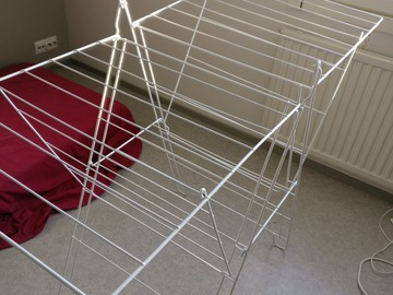Myydään: Cloth drying rack