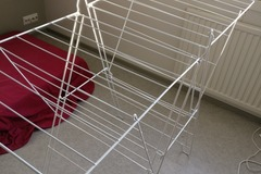 Myydään: Cloth drying rack