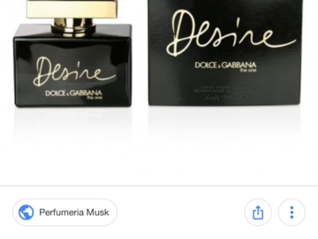 Venta: Perfume desire d&g