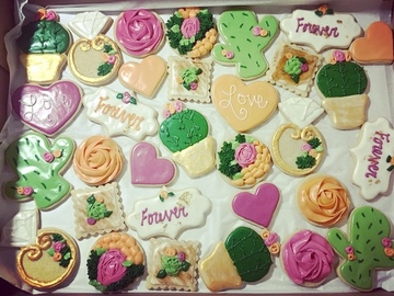 Book & Pay Online (per party package rental): Gluten Free Decorated Cookies