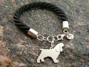 Selling: Bracelet  Cocker Spaniel * 925 silver sterling