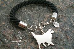 Selling: Bracelet Bernese Mountain Dog * 925 silver sterling