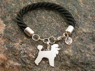 Selling: Bracelet  Poodle * 925 silver sterling