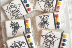 Request To Book & Pay In-Person (hourly/per party package pricing): Custom Cookies and Party Favors