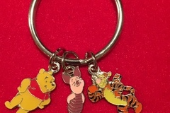 Liquidation Lot: 360 --DISNEY KEYCHAINS--  3 CHARMS ON EACH-- $ .40 pcs