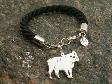 Selling: Bracelet  Bulldog * 925 silver sterling