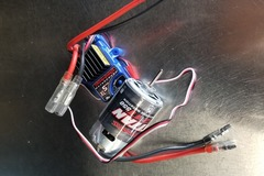 Selling: Trx4 stock esc and brushed motor