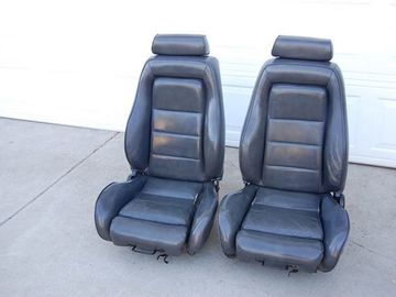 Selling with online payment: 84-86 Mustang SVO Seats