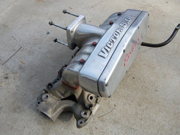 Selling with online payment: 86-95 Mustang Edelbrock Victor 5.0 Intake