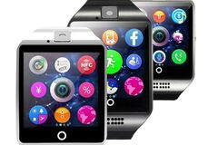 Buy Now: 30 X Q18 Touch Screen Smartwatches, Bluetooth, SIM Cards, Cameras