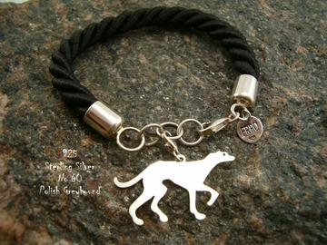 Selling: Bracelet  Polish Greyhound * 925 silver sterling
