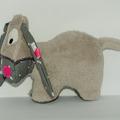 Vente au détail: Petit âne gris - gris étoilé