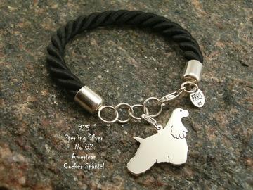 Selling: Bracelet  American Cocker Spaniel * 925 silver sterling