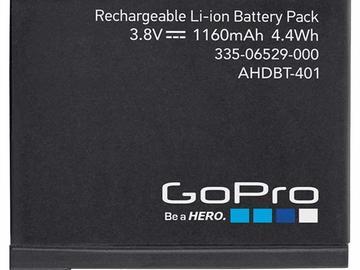 Buy Now: Gopro Hero 4 Rechargable batteries MSRP $1,399