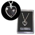 Buy Now: 50-- Swarovski Heart Pendant  Necklace in Gift Box-- $1.99 ea!