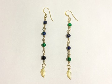 Selling with online payment: Drop of Antigua Earrings