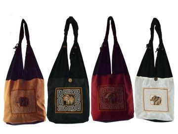 Buy Now: Lot of 30 Handmade Shoulder Sling Bags Cotton Hippie Purses Boho