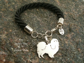 Selling: Bracelet  Japanese Chin * 925 silver sterling