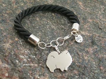 Selling: Bracelet  Pomeranian * 925 silver sterling