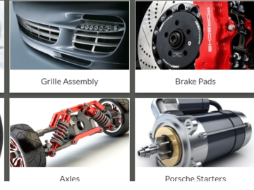Selling without online payment: OEM Luxury Parts - Genuine Porsche Parts