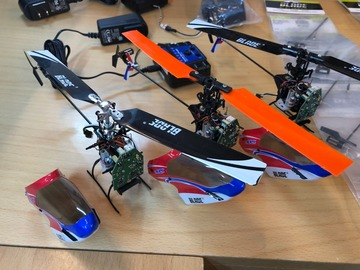 Selling: 3# Blade mCP X v2 RTF used with many New parts