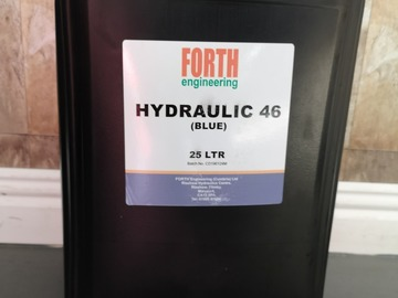 Spares / consumables for sale:  ISO 46 hydraulic oil