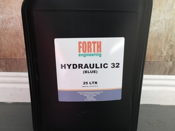 Spares / consumables for sale: ISO 32 hydraulic oil