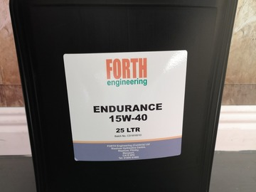 Spares / consumables for sale: 15W/40 engine oil