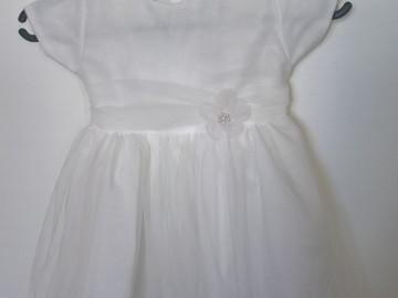 Ilmoitus: Pienen morsiustytön mekko 86