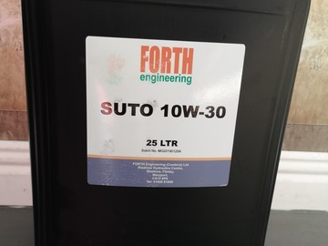 Spares / consumables for sale: 10w30 SUTO oil
