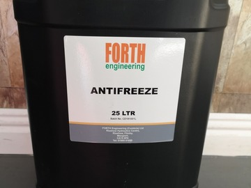 Spares / consumables for sale: 25ltr antifreeze