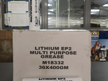 Spares / consumables for sale: lithium EP2 grease  (BOX36)