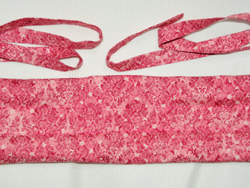 Vente au détail: Bouillotte sèche-bandeau rose - création originale