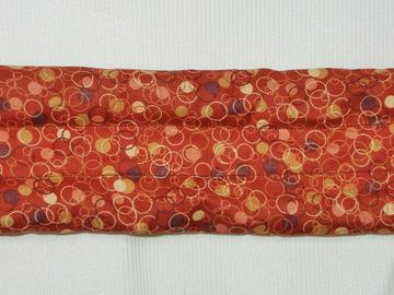 Vente au détail: Bouillotte sèche-bandeau marron bulles - création originale