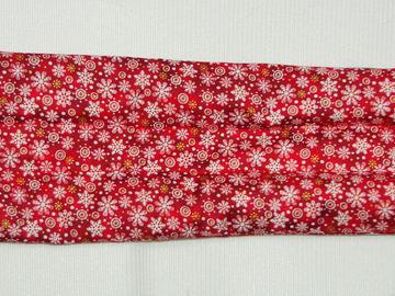 Vente au détail: Bouillotte sèche-bandeau rouge et flocons de neige