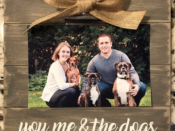 Selling: you, me & the dogs frame