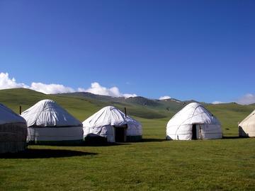 Book (with online payment): Randonnée équestre - découverte de la vie nomade  - Kirghizistan