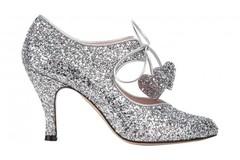 Ostetaan: Ostetaan Minna Parikan Raquel silver glitter kengät koossa 39