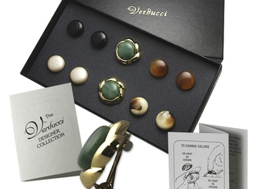 Buy Now: 65 sets-- 5 in 1 Clip Earrings--Interchangable-- $1.50 per box